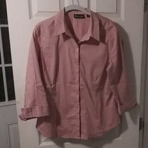 Womens button up blouse